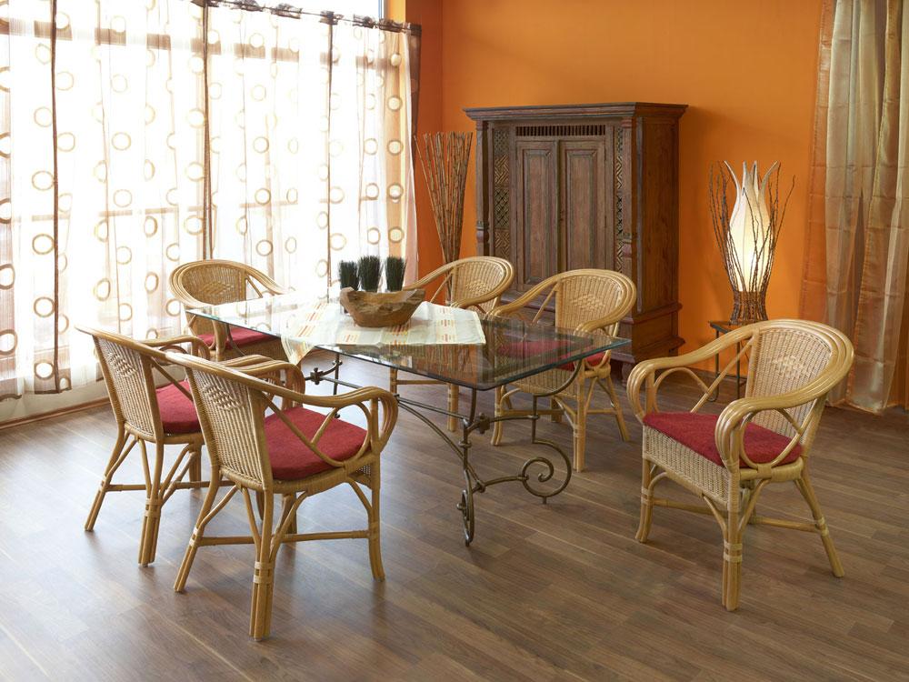 Esstisch mit glasplatte tisch wohnzimmertisch - Casamia wohnen ...
